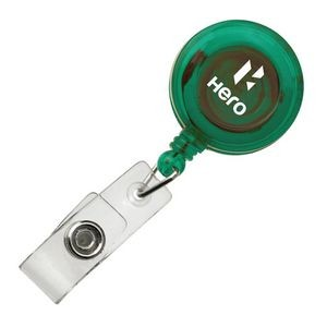 Retractable Badge Holder - Green